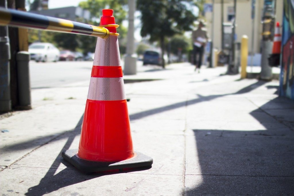 What is traffic cones used for?