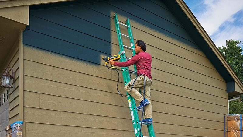 What Are The Benefits Of Spray Painting A House?