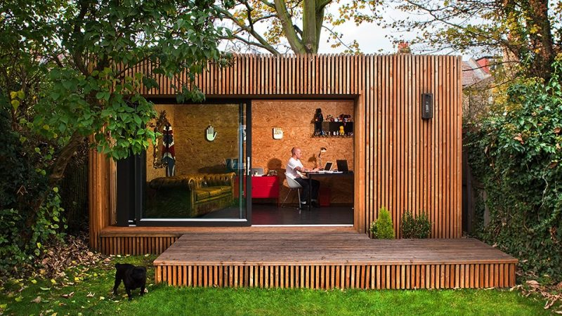 Why consider an outdoor office in your garden?